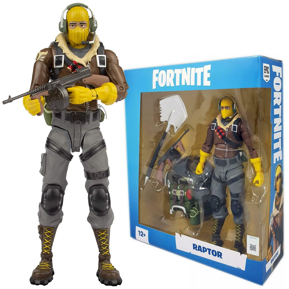 Raptor Fortnite série McFarlane Toys 1 action figure